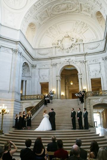 This lovely wedding took place at the Rotunda of the historic San Francisco City Hall.
