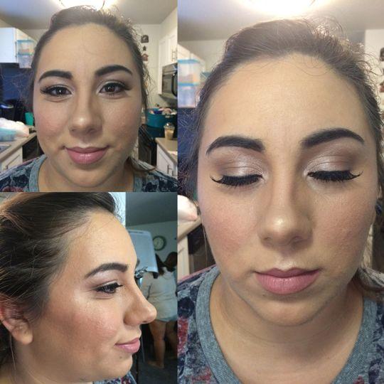 bridesmaid collage edit web