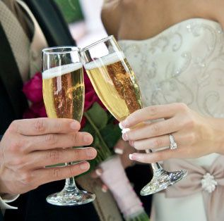 Tmx 1485362262165 Wedding Champagne Glasses Kingston wedding dress