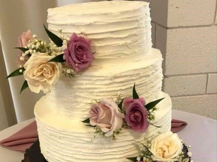 Tmx Rustic Flower 51 973643 1556548726 Beaumont wedding cake