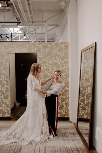 Dressing room vibes