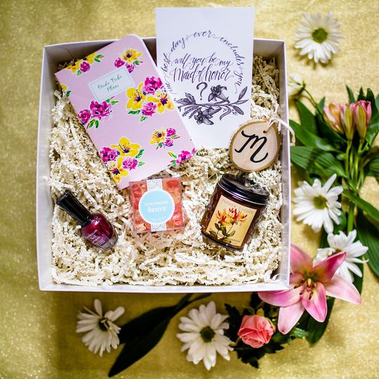 Ain't No Party Like a Bridal Party bridesmaid proposal box 10% of box profits will be donated to...
