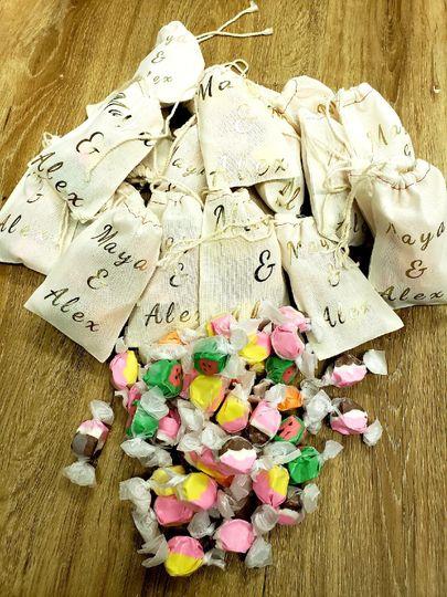 Custom taffy bags