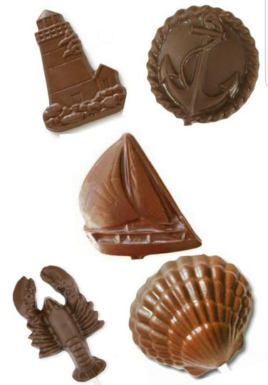 Nautical Chocolate Favors