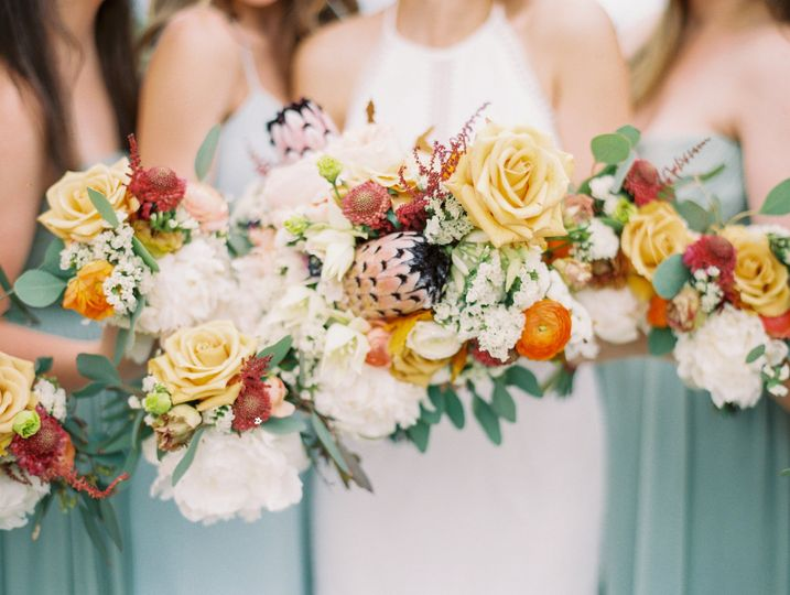The bouquets