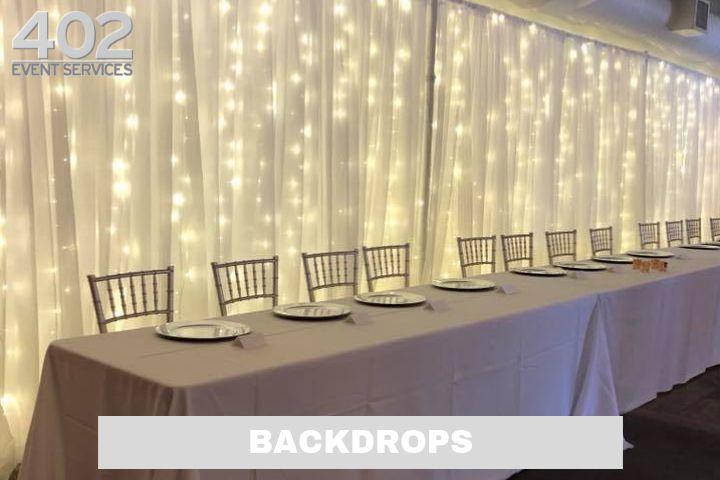 Production: Backdrops