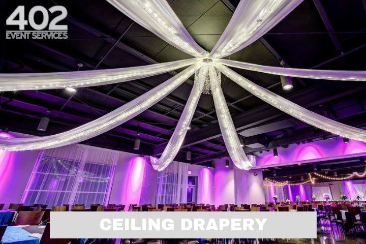 Production: Ceiling Drapery