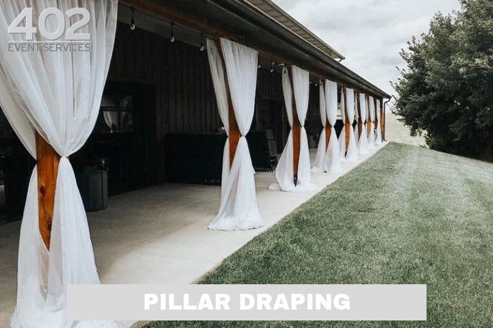 Production: Pillar Draping