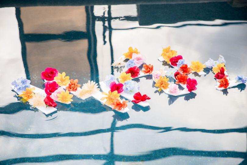 Floating flowers