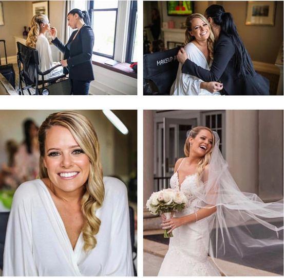 Erin wedding day