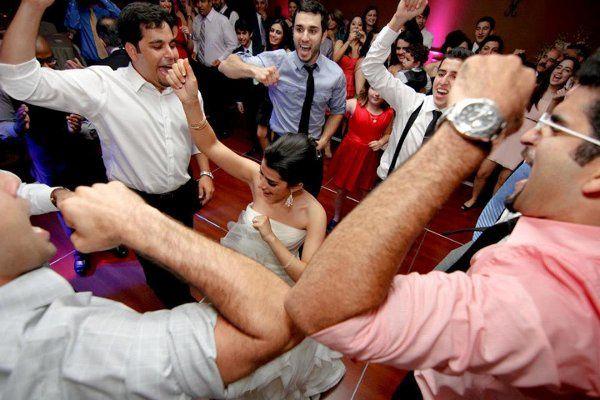 Party dancing!