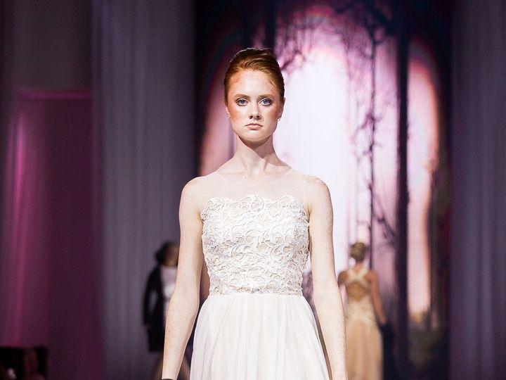 Tmx 1514590612270 Vanyadesignsaug2017ofwsaturdayrunwaybyheatherandja Wichita, KS wedding dress