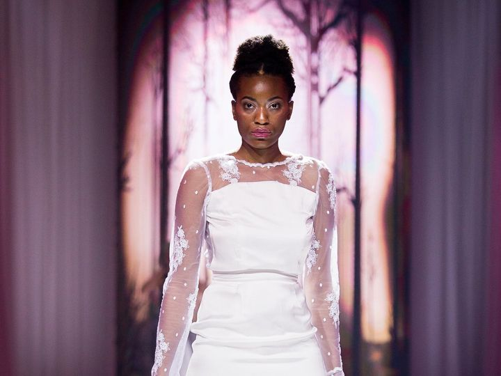 Tmx 1514590643950 Vanyadesignsaug2017ofwsaturdayrunwaybyheatherandja Wichita, KS wedding dress
