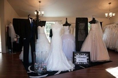 Bridal By Marie also carries shoes and accessories for your special day.