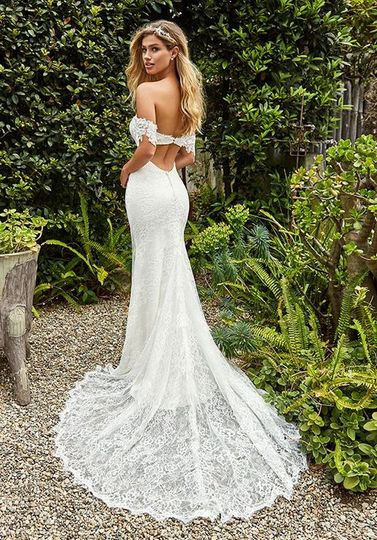 Gown by Val Stefani