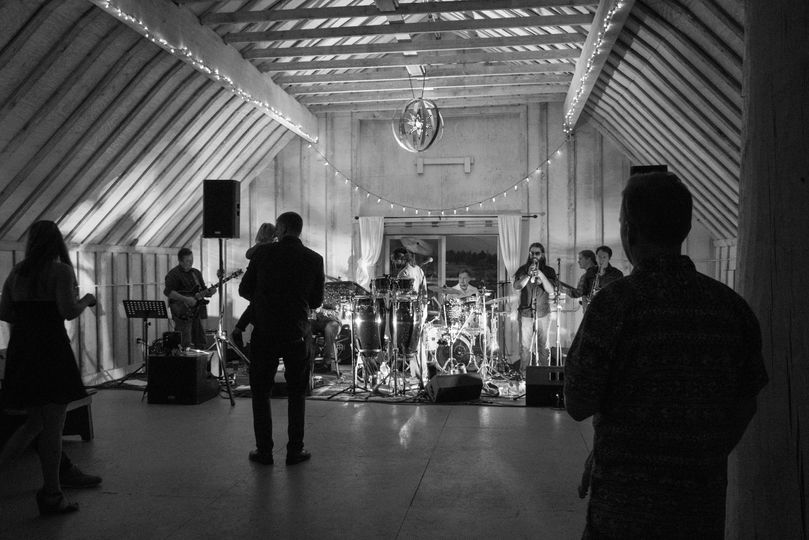 Band in the barn
