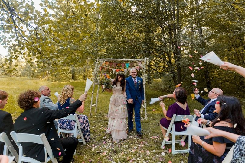 Catskills intimate wedding