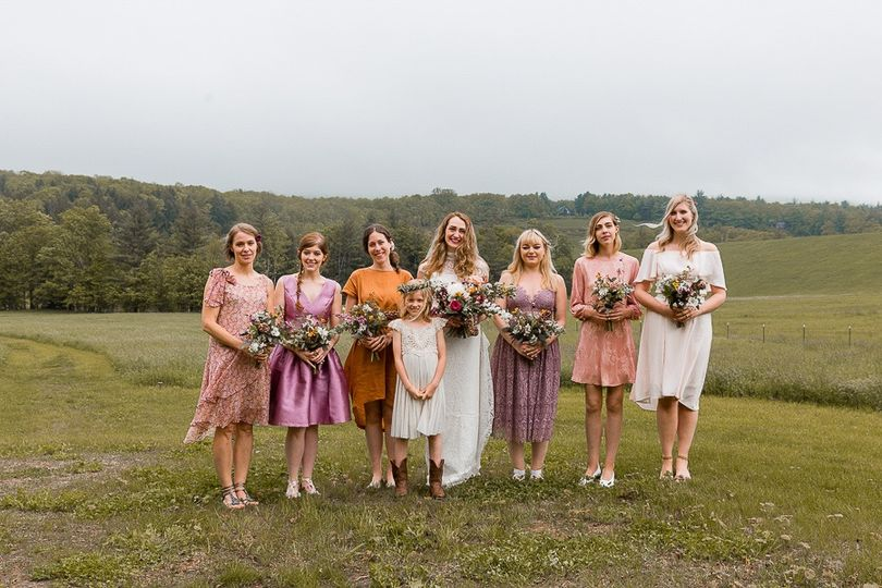 Hayfield Catskills wedding