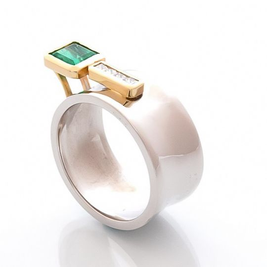 """""""Fura"""" Emerald Ring"""