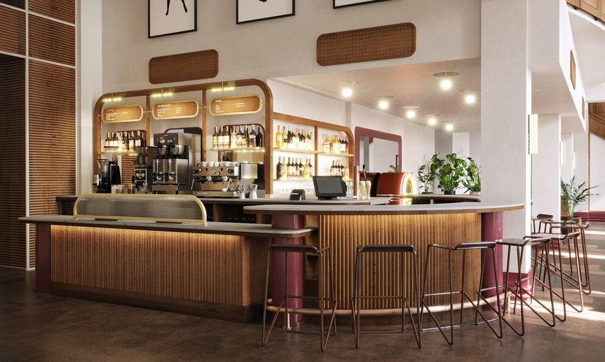 Lobby bar/cafe