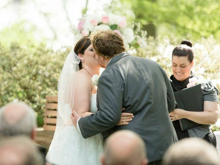 Tmx 1447214224070 Jenna And Nick Kiss Frontpage Lancaster, Pennsylvania wedding officiant