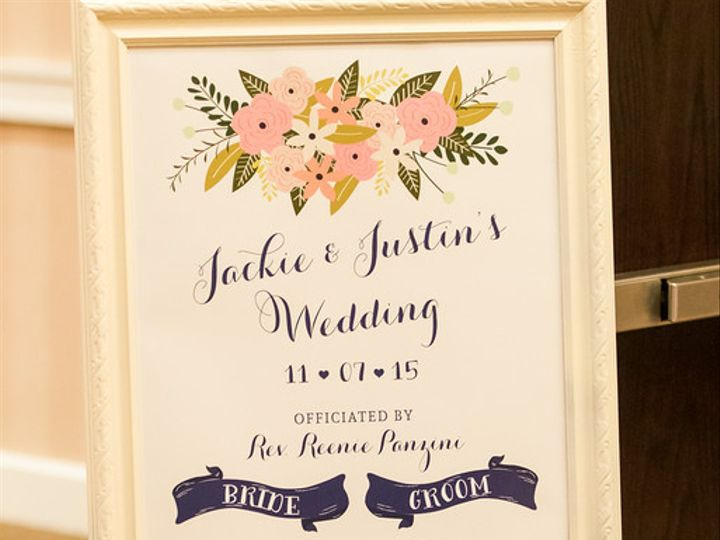 Tmx 1447214283516 Sheraton Jackie And Justin Sign Lancaster, Pennsylvania wedding officiant