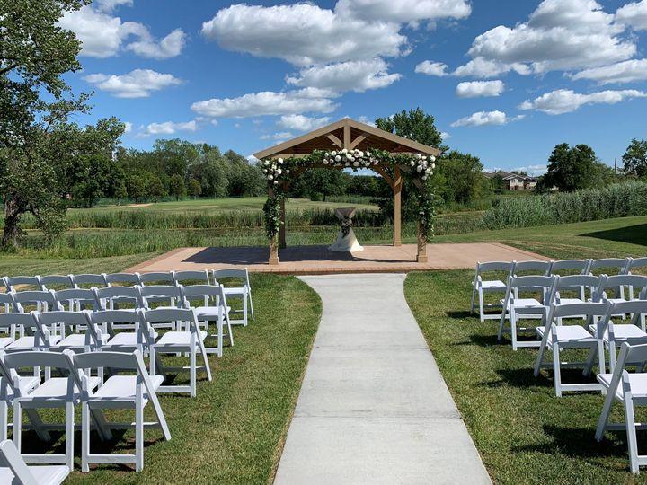 Breathtaking ceremony location