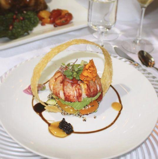 Amazing, modern cuisine