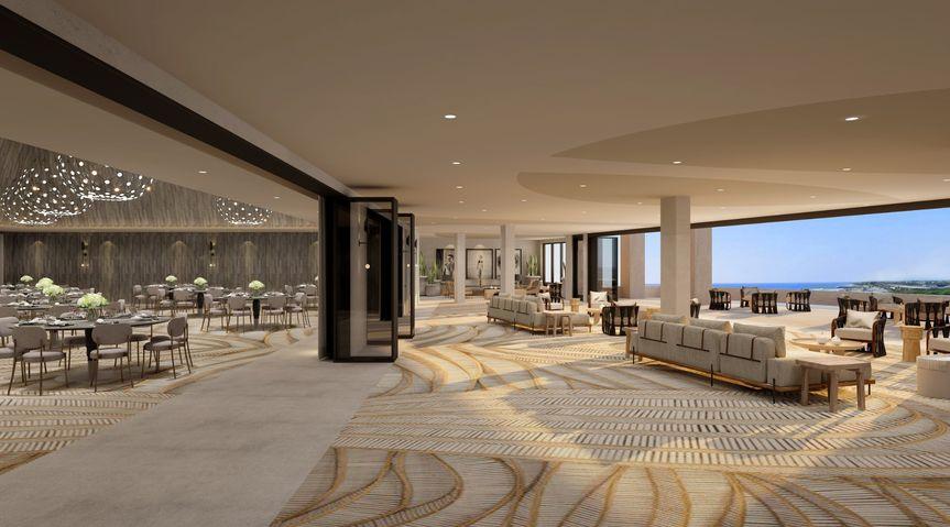 Terrace & Foyer Space
