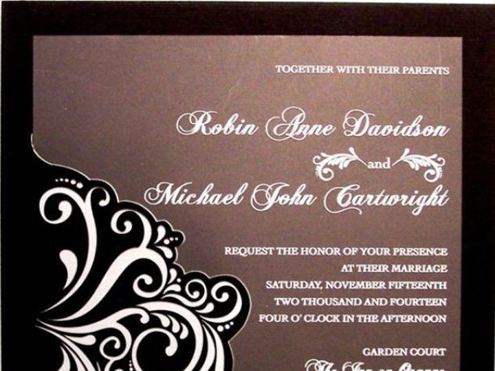 Tmx 1389128174585 Mm Freehold, New Jersey wedding invitation