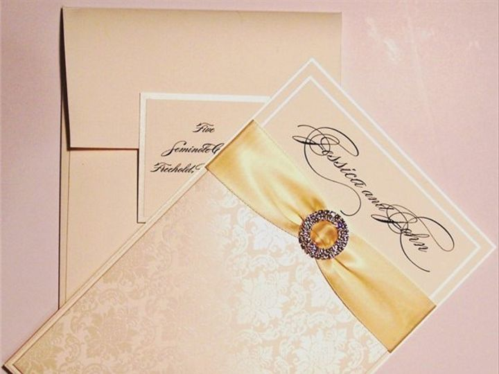 Tmx 1390428675860 Meiskin  Freehold, New Jersey wedding invitation