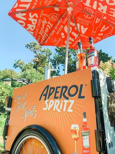 Aperol Spritz Bike