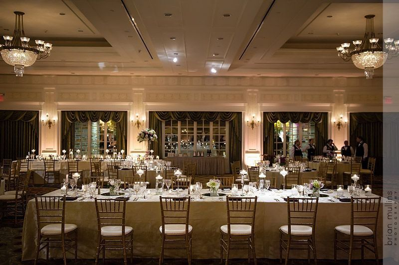 Presidents Ballroom Mix of Rectangle & Round Seating
