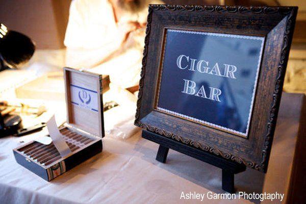 Custom cigar bar signage