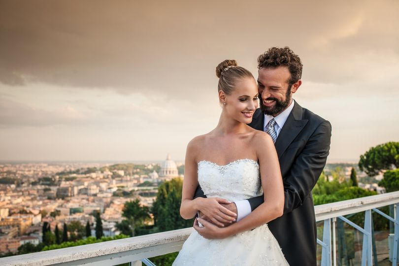 wedding at rome cavalieri