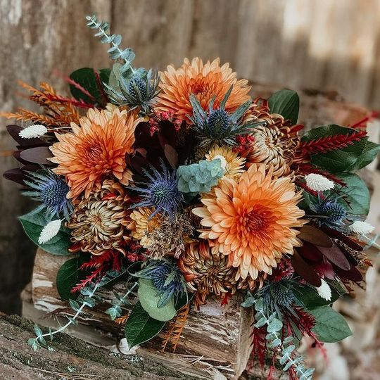 Woodland Floral Design