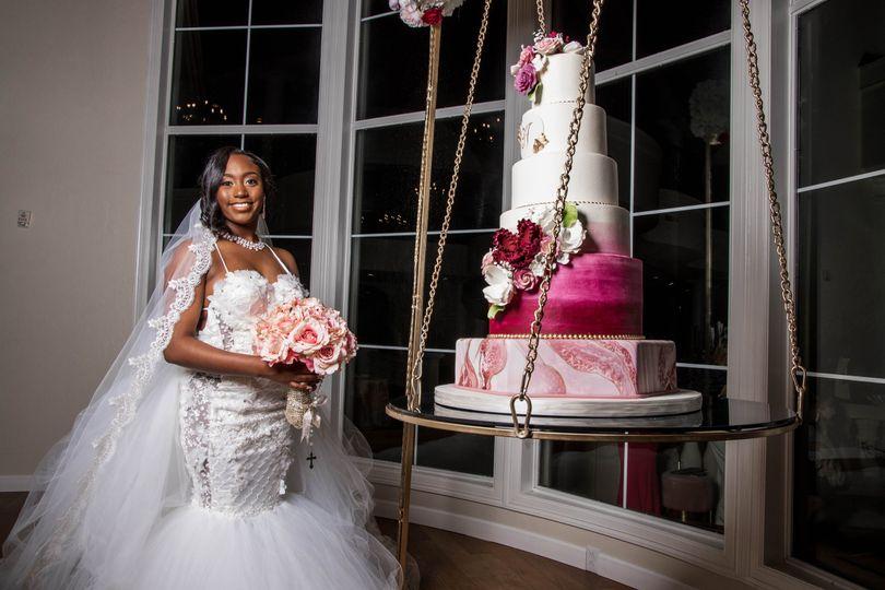 Bride & Cake