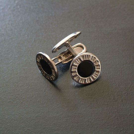 Sterling Silver cufflinks imported from Italy.
