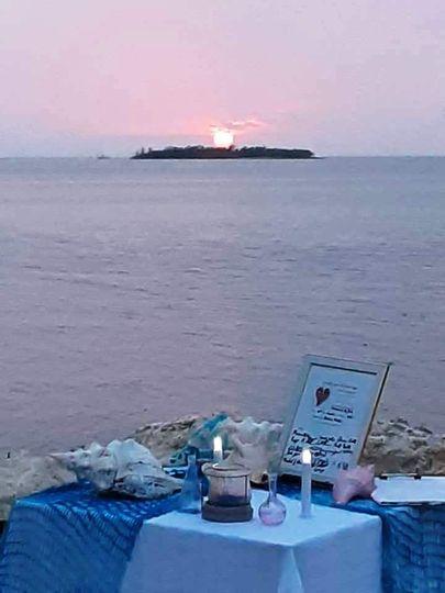 Sun-set celebration