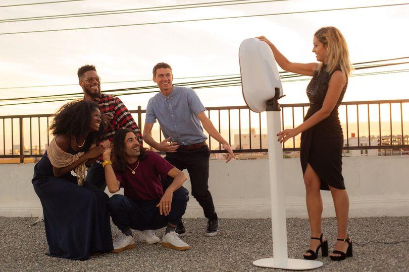 Rooftop Fun Photos