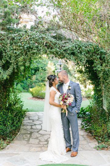 Twin Oaks Garden house wedding