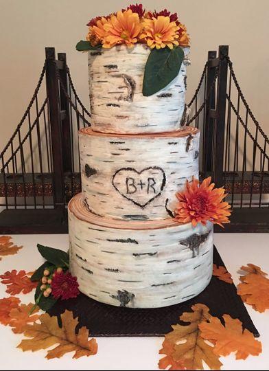 The three layer cake