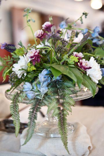 fern arrangementyellowtwist floral design