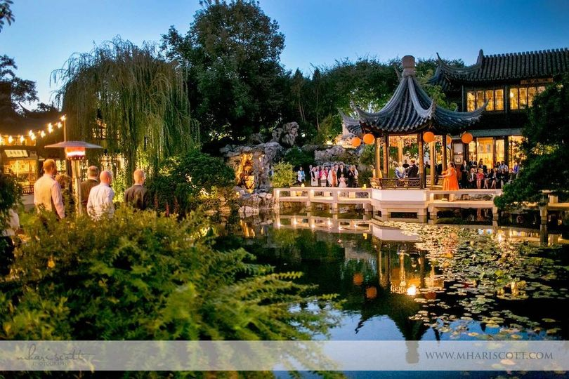 Lan Su Chinese Garden Venue Portland Or Weddingwire