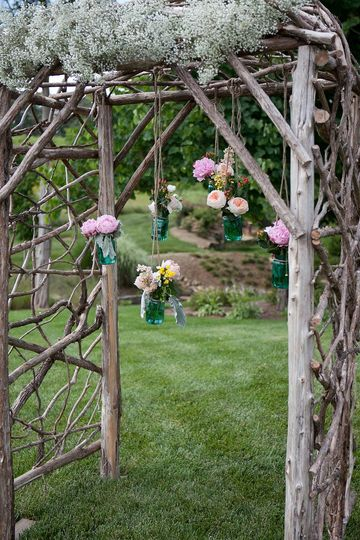 Sample wedding arch