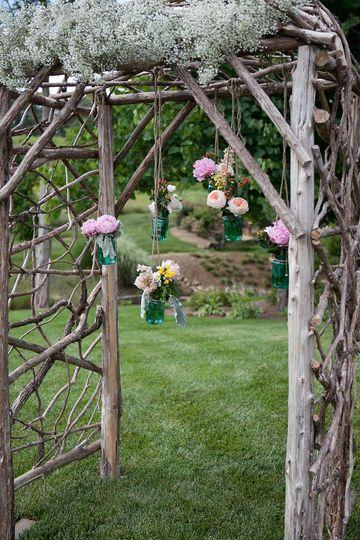 Sample wedding arch