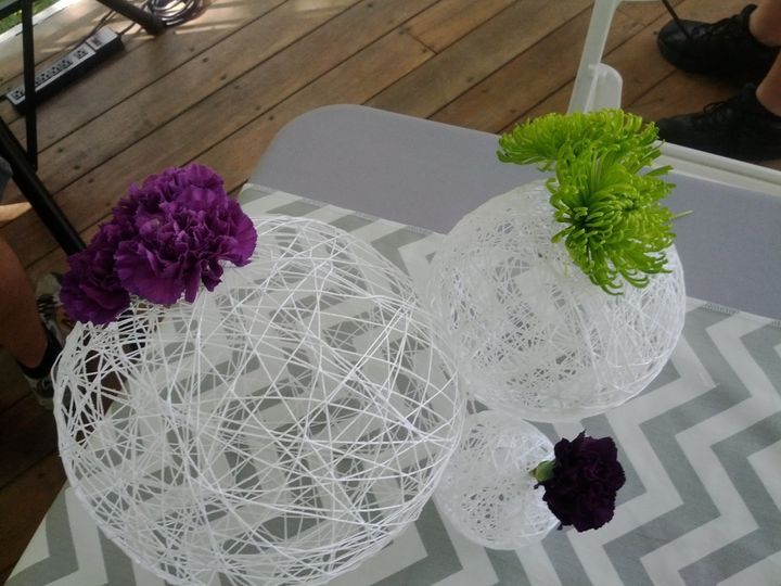 White ball decor