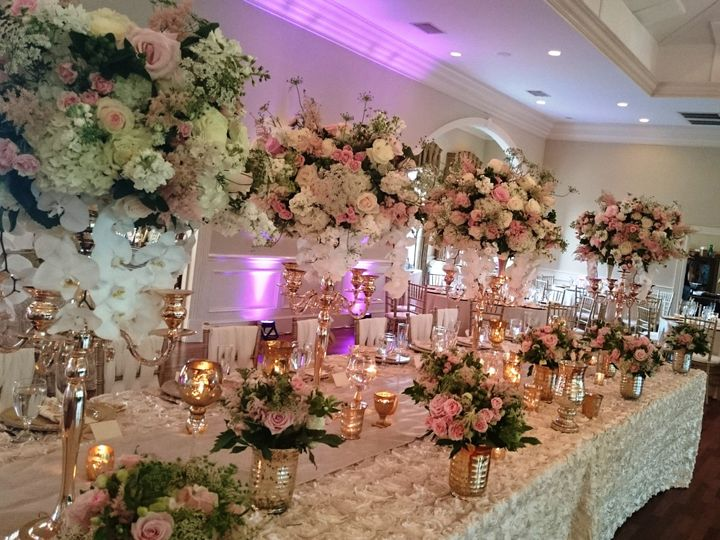 Tmx 1433966949858 Headtable3 Pineville, North Carolina wedding florist