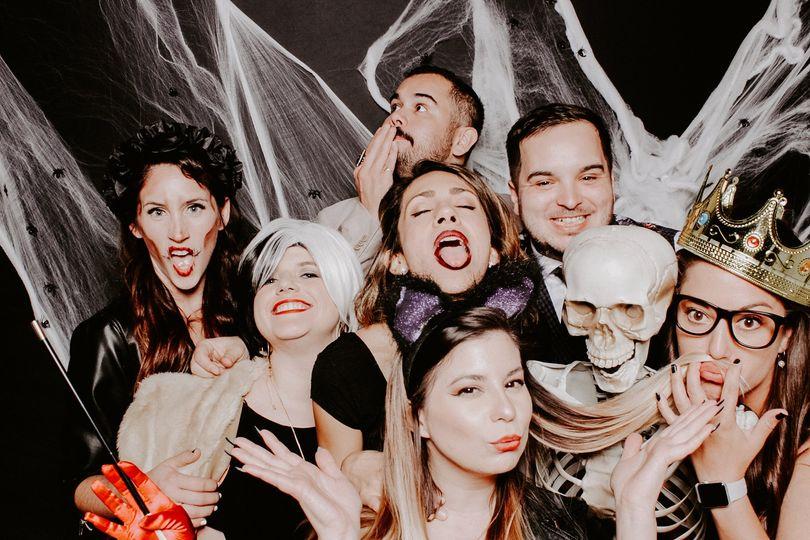 Halloween Wedding Photo Booth
