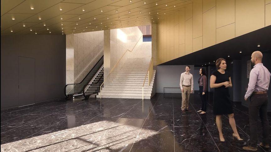 Capital One Hall - Lobby